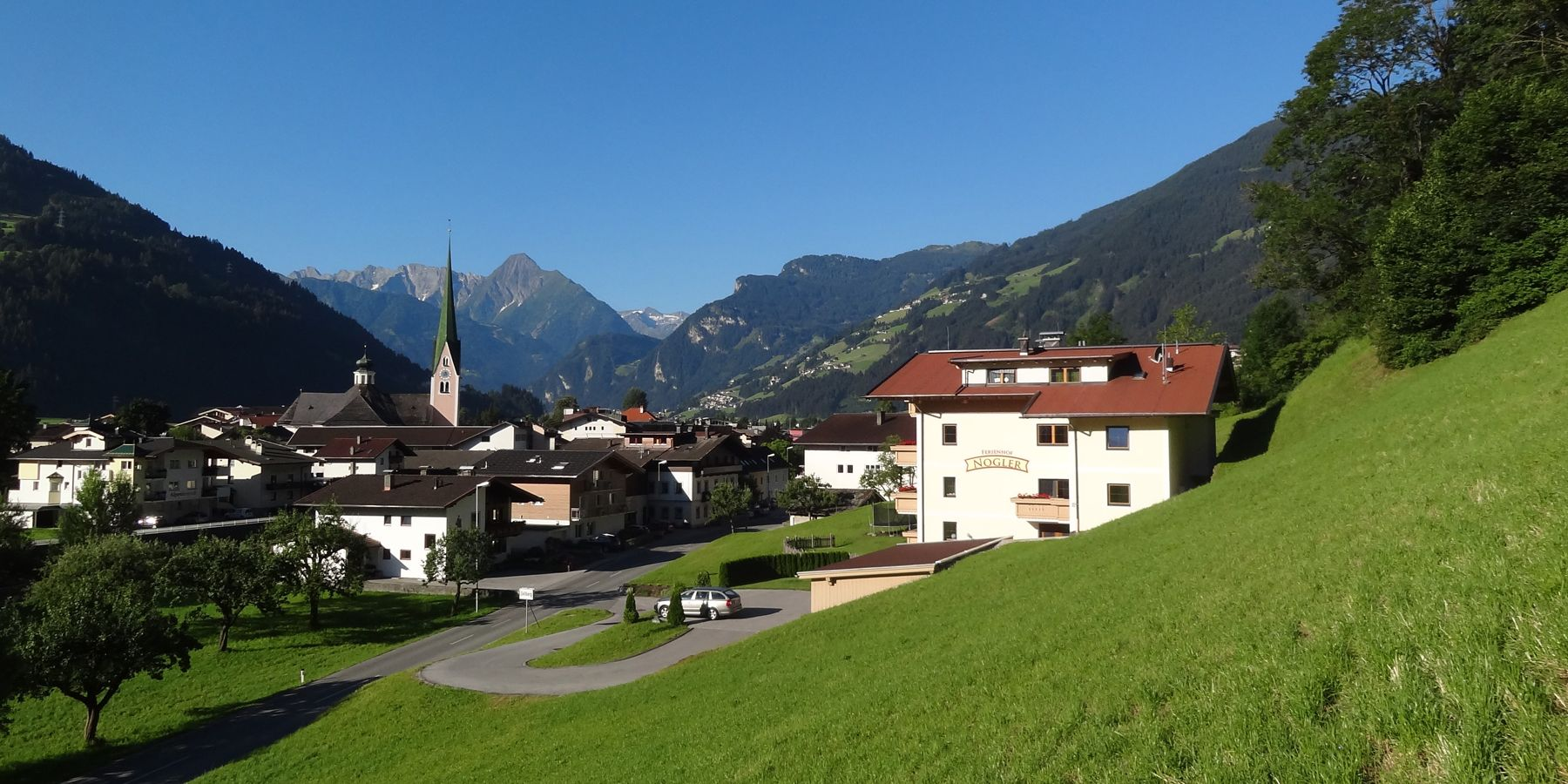 Appartments Nogler in Zell am Ziller