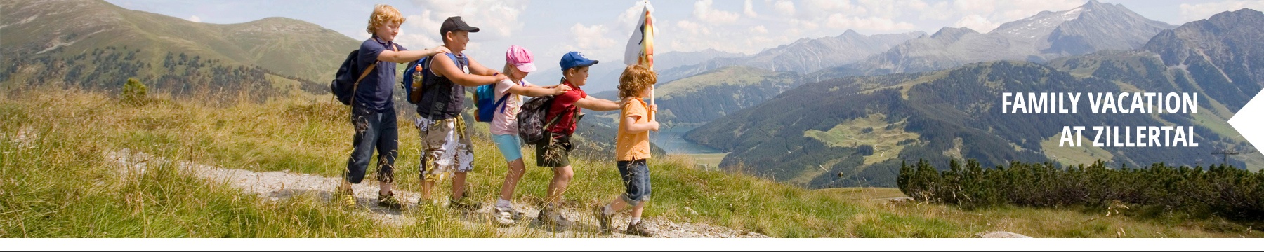family vacation at zillertal